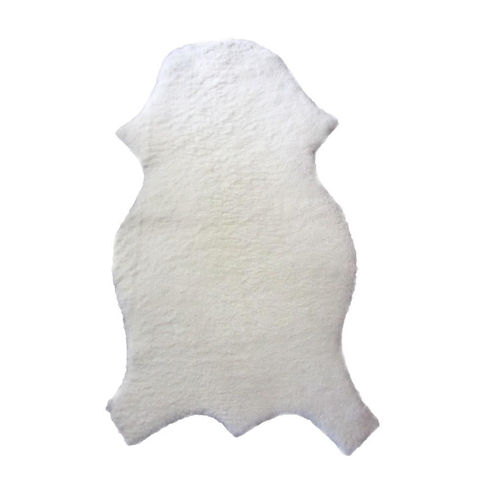 Pelego de Carneiro(Ovelha) com Lã Natural Tosado P