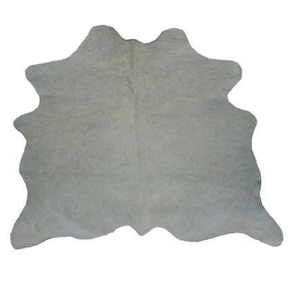 Tapete de Couro  Natural 0,60x0,75m Branco