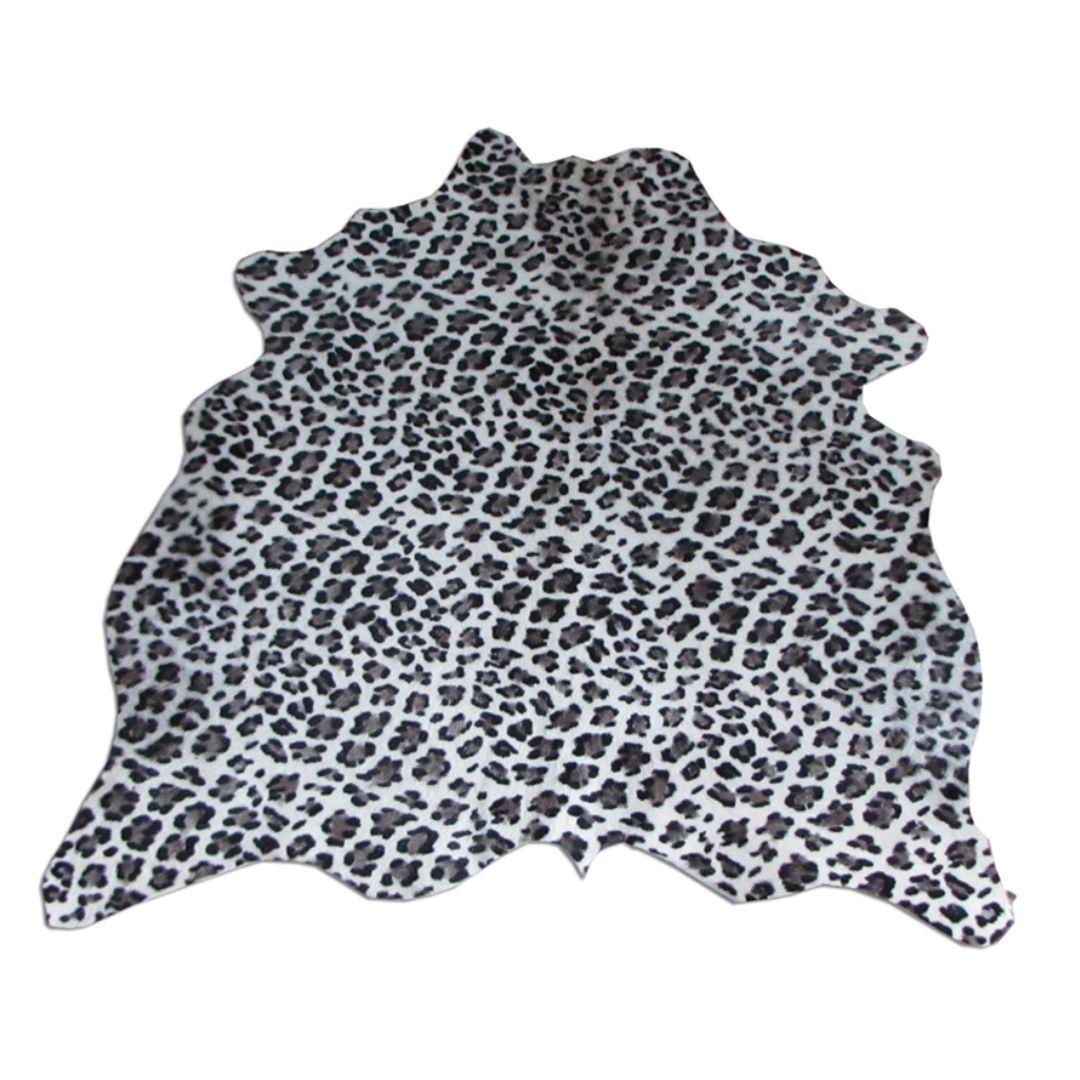 Tapete de Couro Natural 0,70x0,80m Serigrafado Tigre