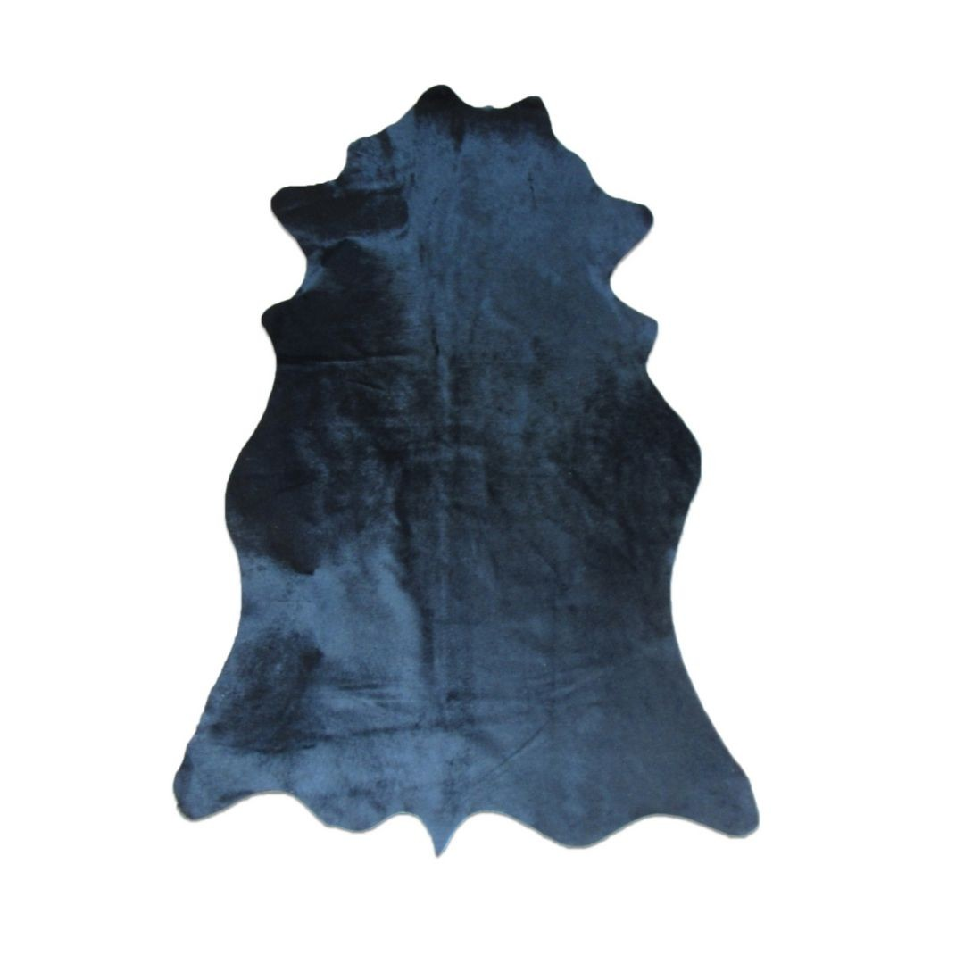 Tapete de Couro Natural 1,55X0,85m Preto