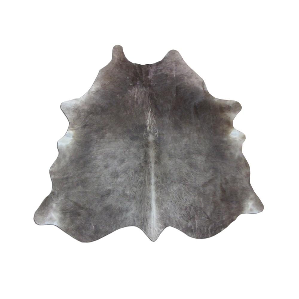 Tapete de Couro Natural 1,60x1,70m Marrom Claro