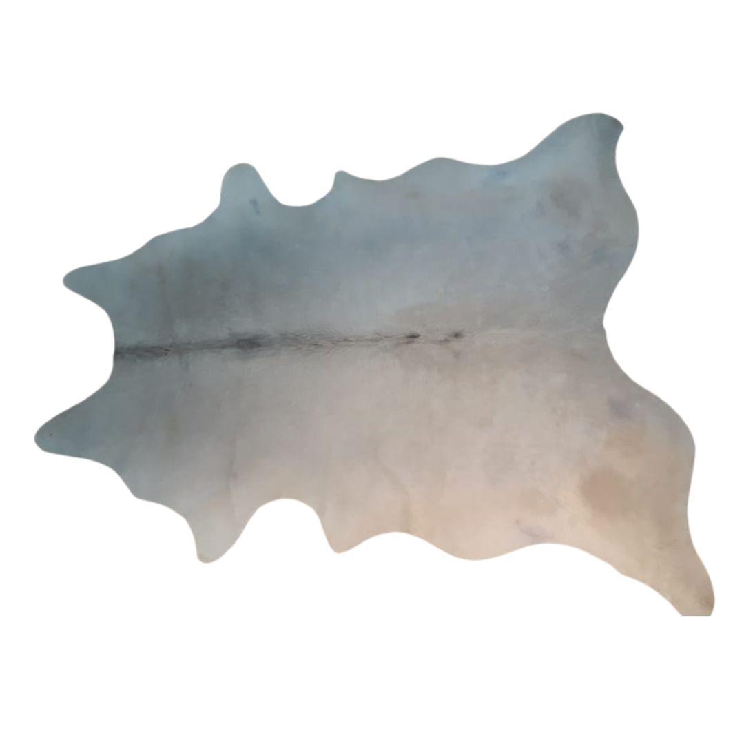 Tapete de Couro Natural 1,80X1,85 Branco