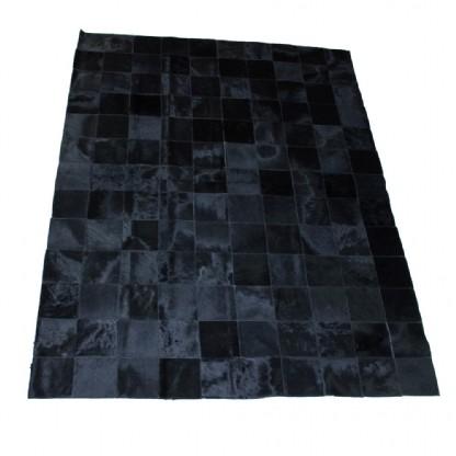 Tapete de Couro Quadriculado 1,50x1,95m Preto