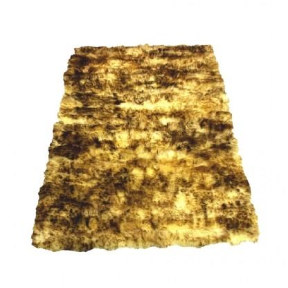 Tapete de Pele de Carneiro(Ovelha) com Lã Natural 1,50x1,00m Chamuscado