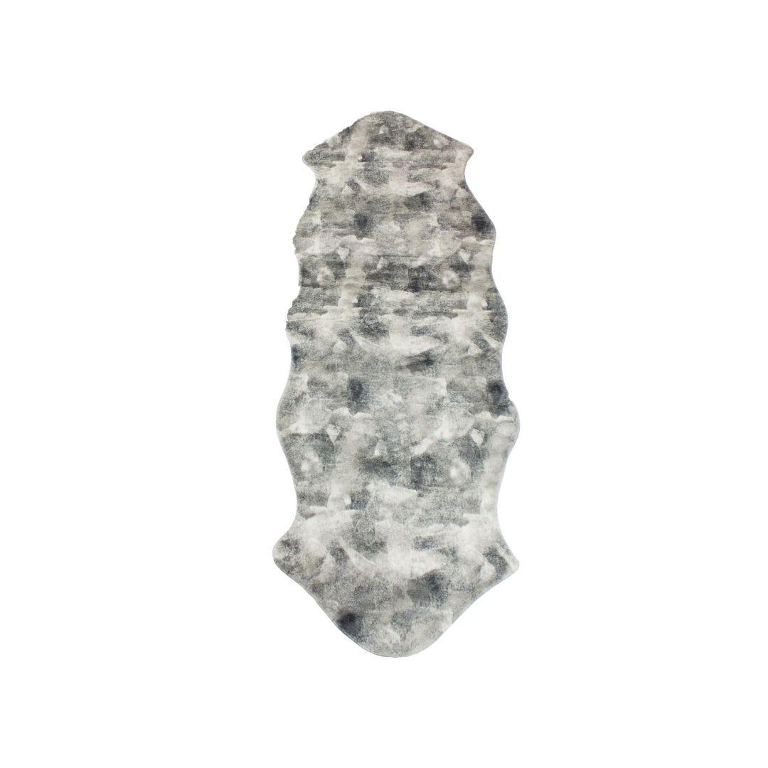 Tapete Importado Sintetico 0,50x0,90 Branco c/ Antiderrapante