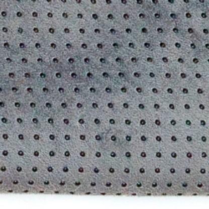 Tapete Importado Sintetico 0,50X1,00m Cinza c/Antiderrapante