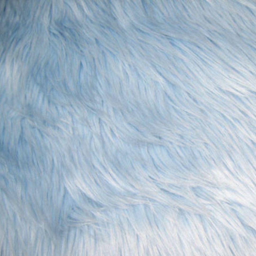 Tapete Importado Sintetico 0,60X2,30m Azul formato Trilho
