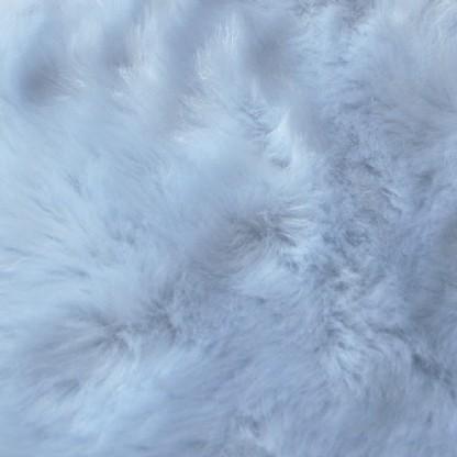 Tapete Importado Sintetico 1,50x1,85m Azul formato 6 peles
