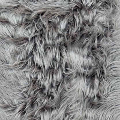Tapete Importado Sintetico 1,95x2,45m Cinza c/ Antiderrapante