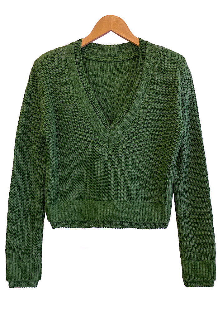 Blusa Tricô LUANA Verde
