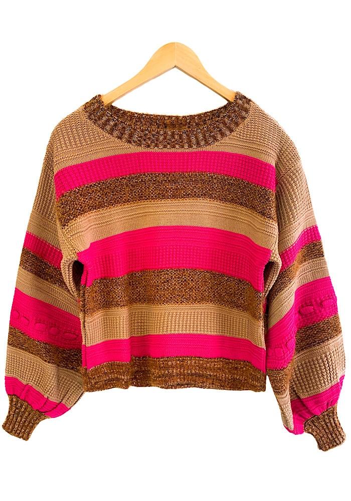 Blusa Tricô RAISSA Pink