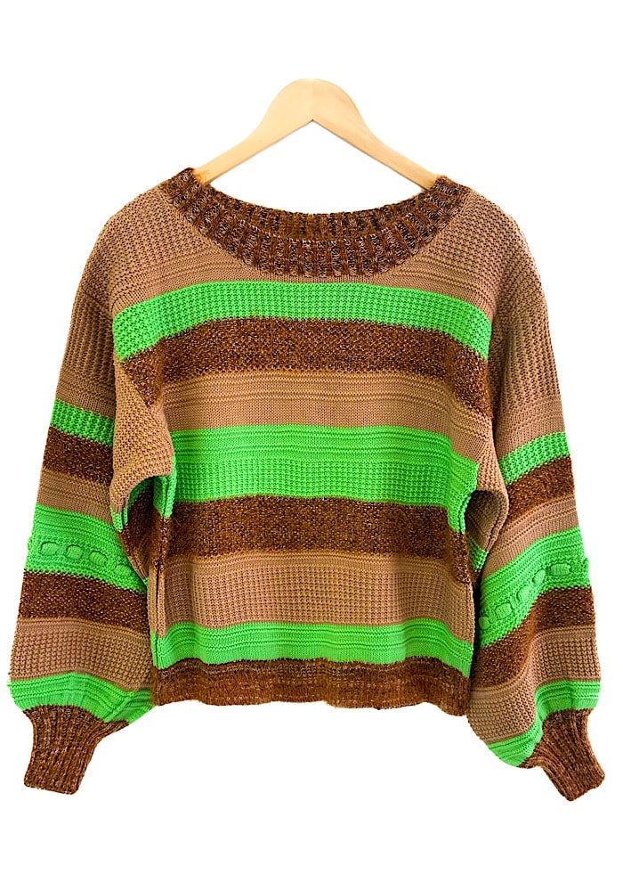 Blusa Tricô RAISSA Verde