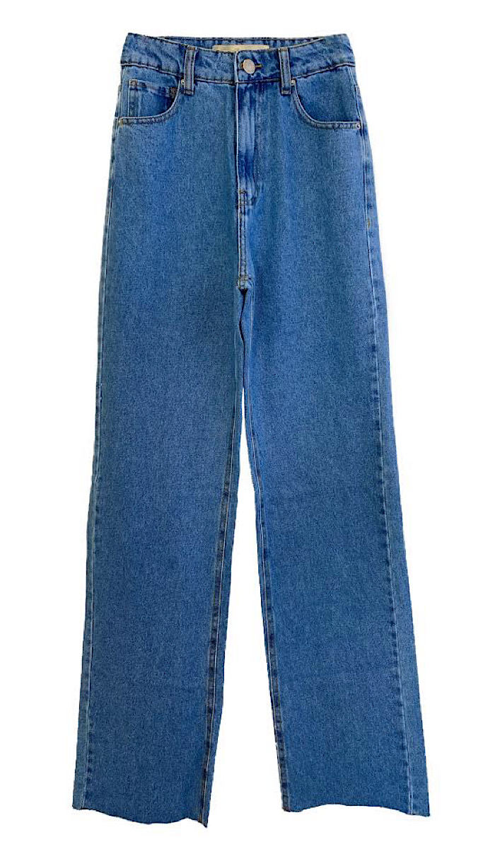Calça Jeans Feminina WIDE