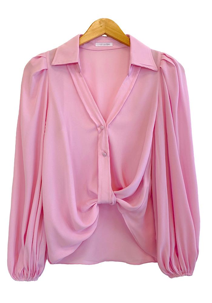 Camisa Feminina LAYLA Rosa