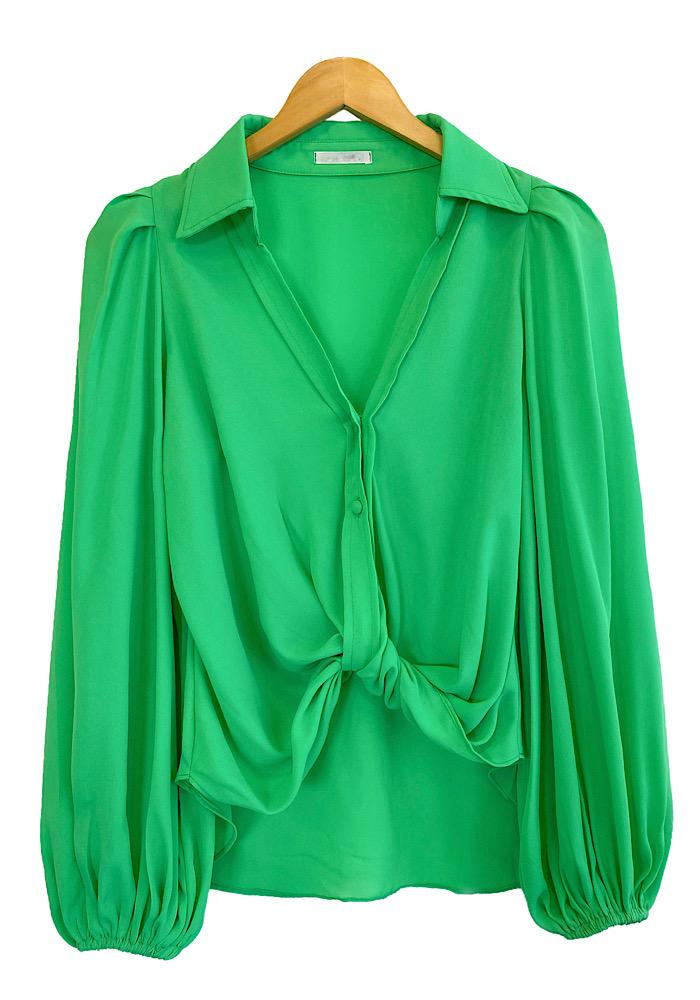 Camisa Feminina LAYLA Verde