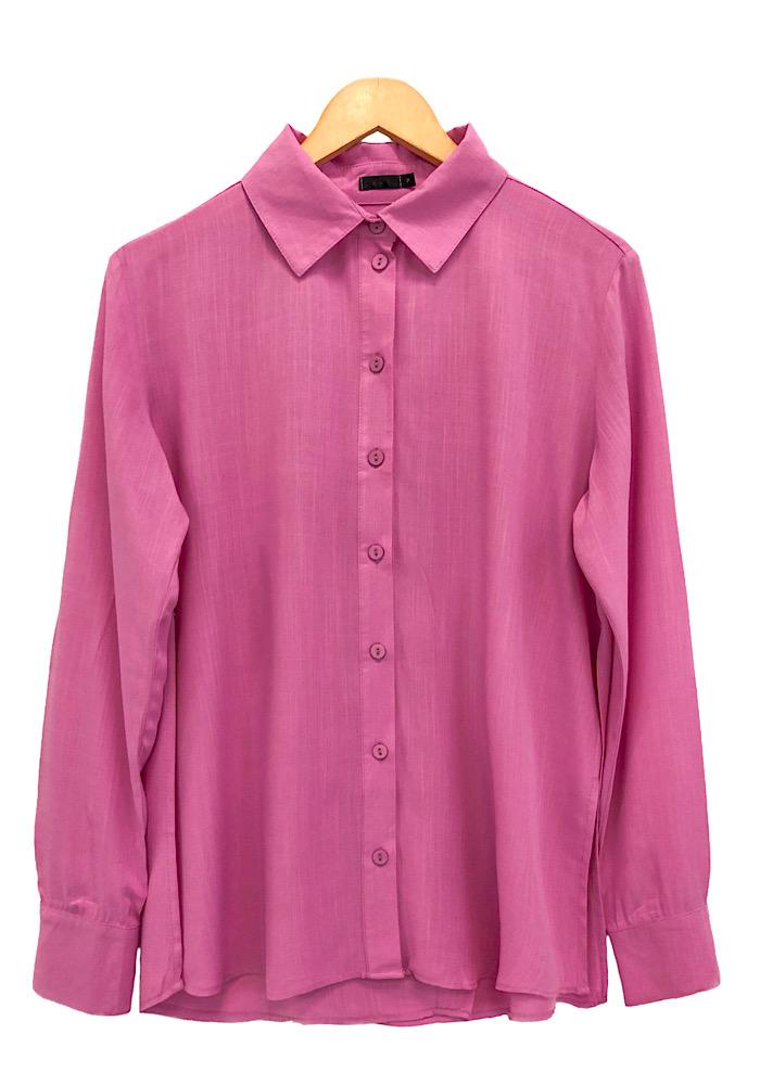 Camisa Feminina NATALI Rosa