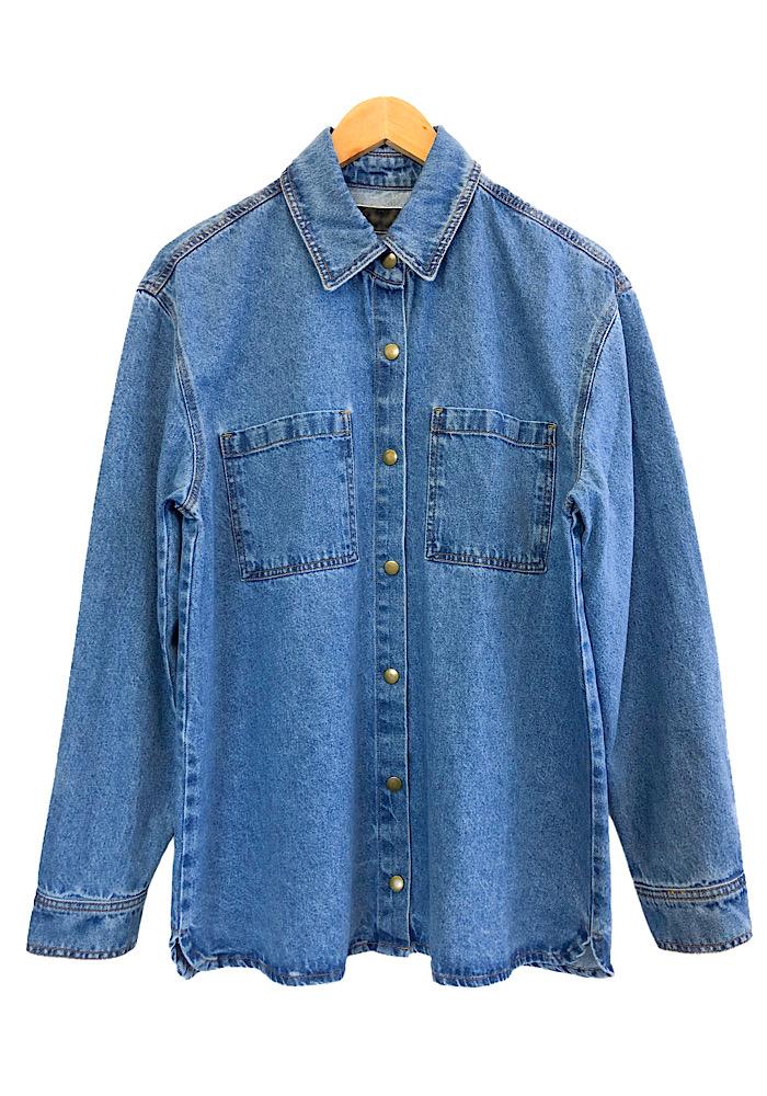 Camisa Jeans Feminina IT