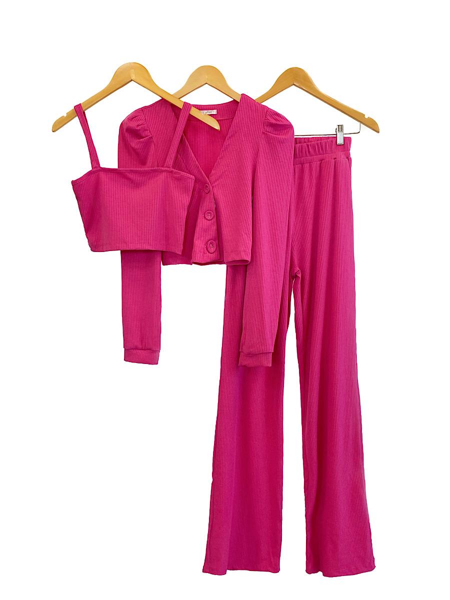 Conjunto Feminino CAMILA Pink