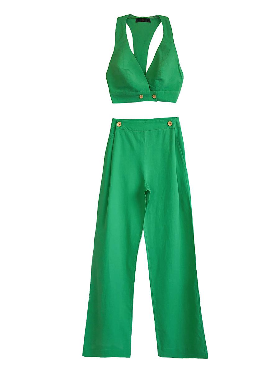 Conjunto Feminino ESTHER Verde