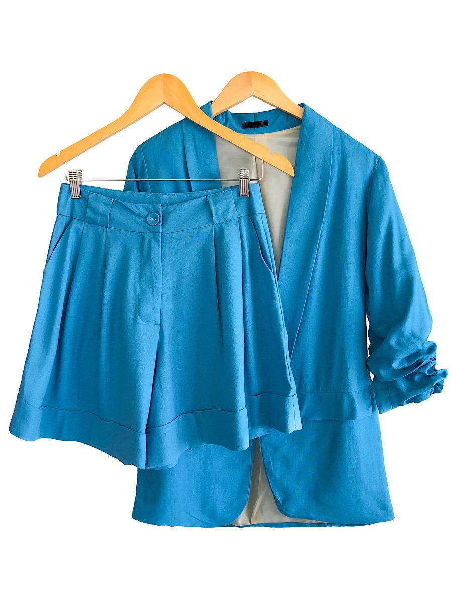 Conjunto Feminino LUIZA Azul