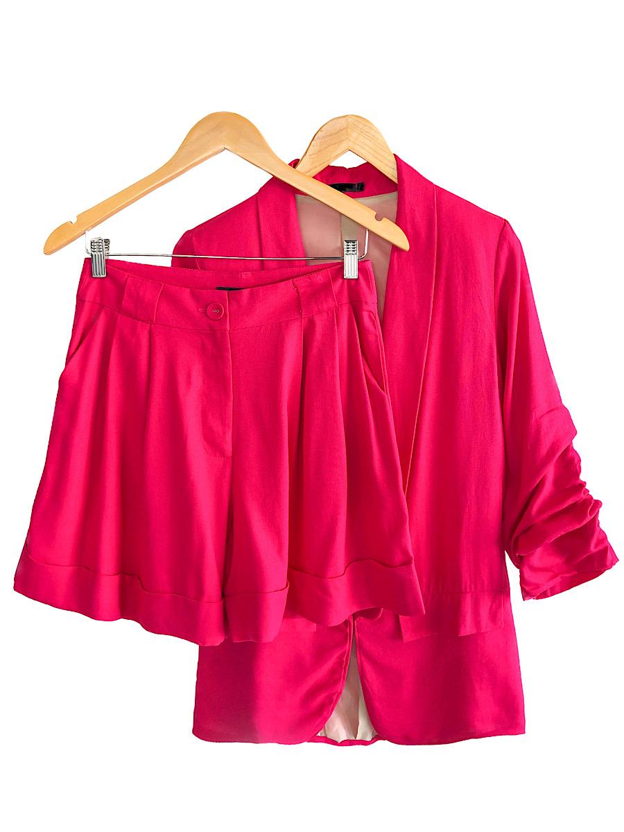Conjunto Feminino LUIZA Pink