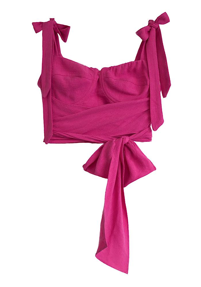 Cropped CARMELA Pink