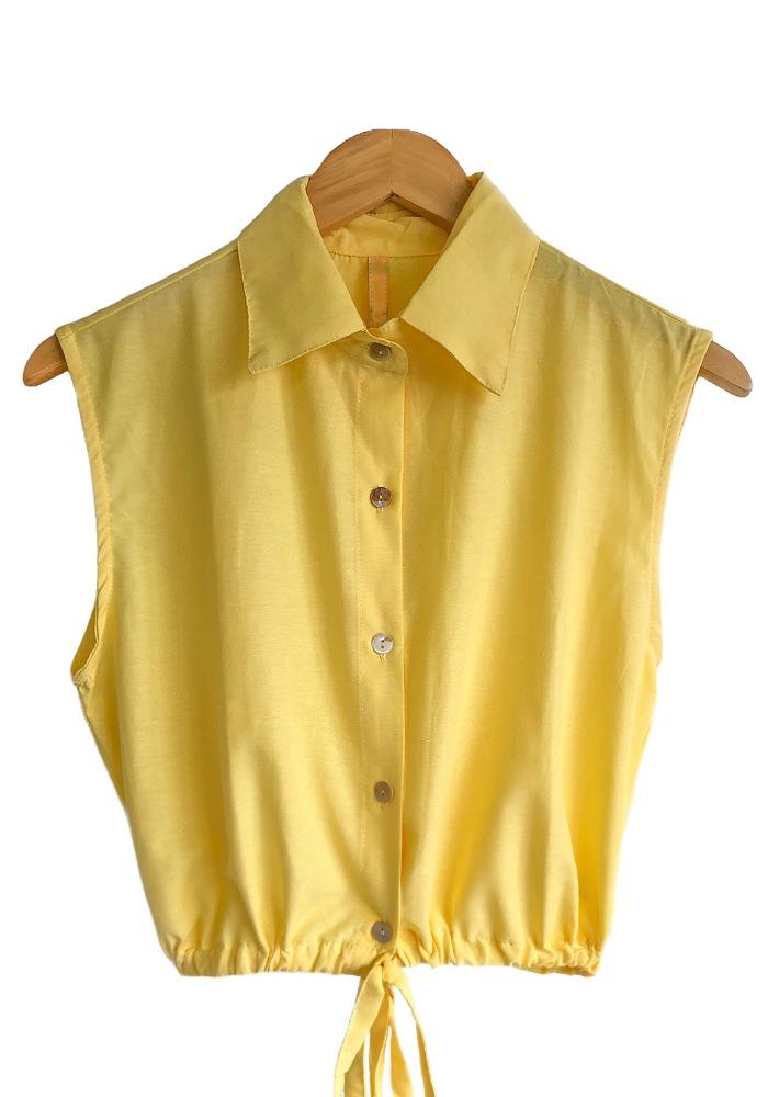 Cropped MANUELA Amarelo