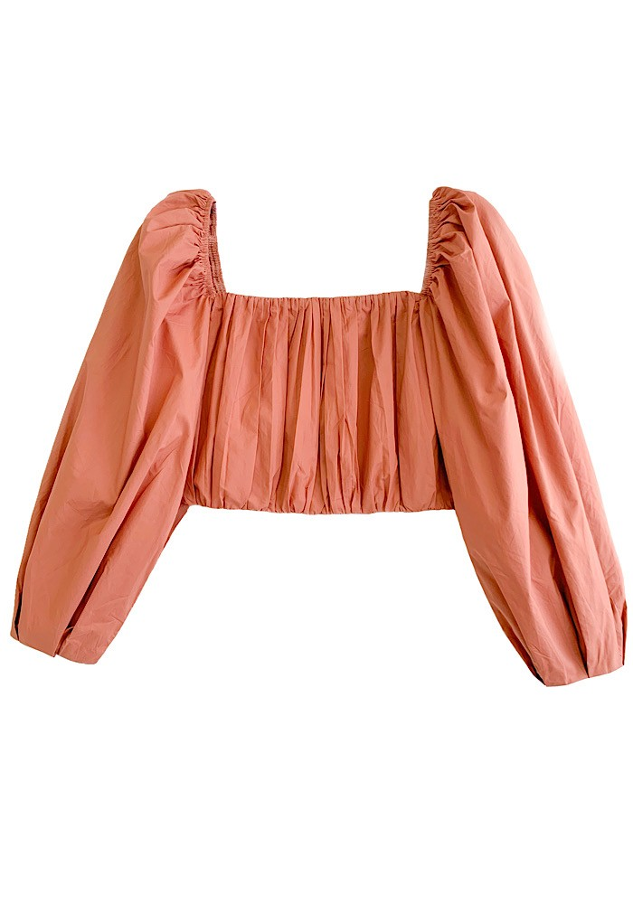 Cropped NATALY Camel