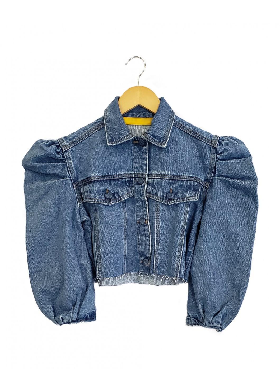 Jaqueta Jeans ALICE Escura