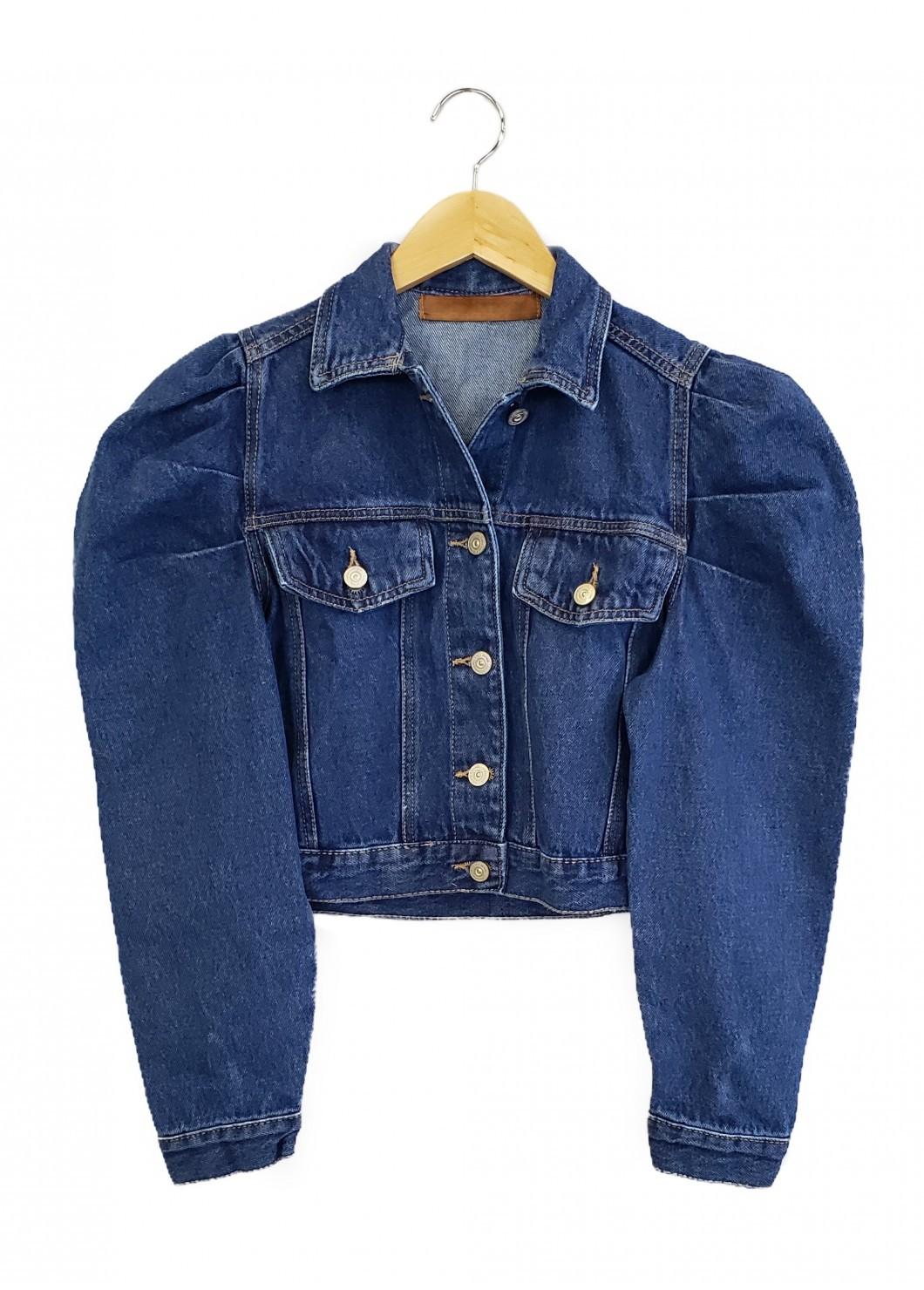 Jaqueta Jeans BUFANTE Escura
