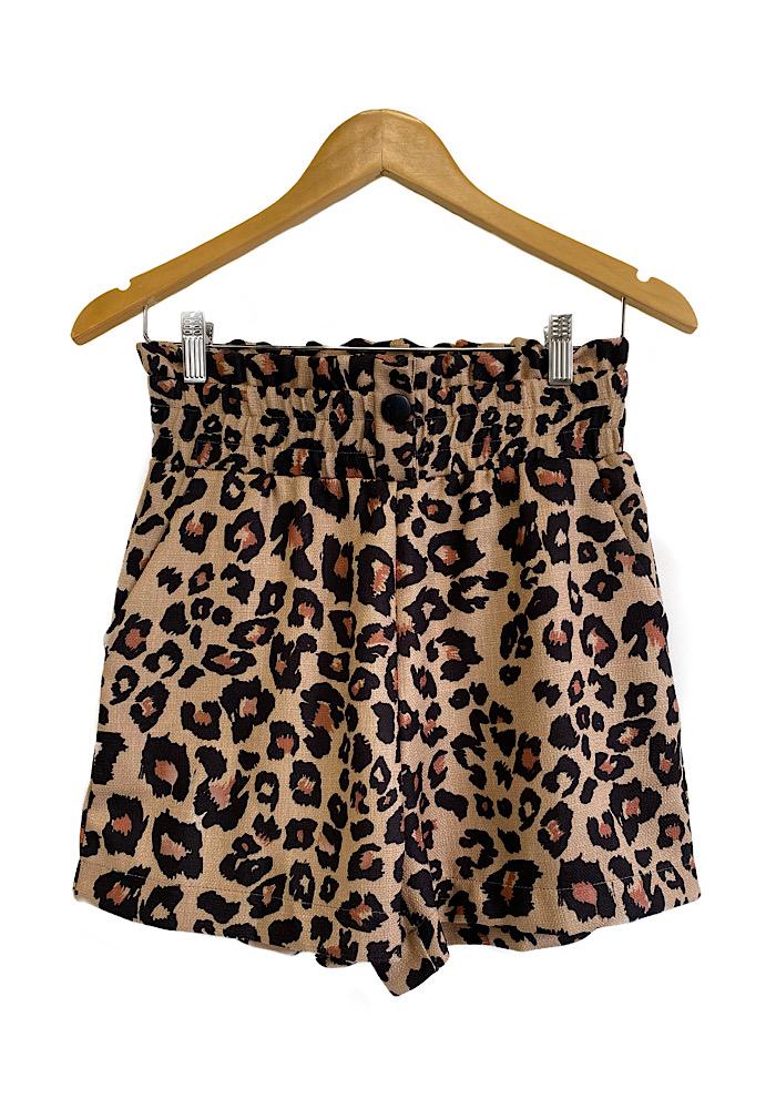 Shorts Feminino LEOPARD