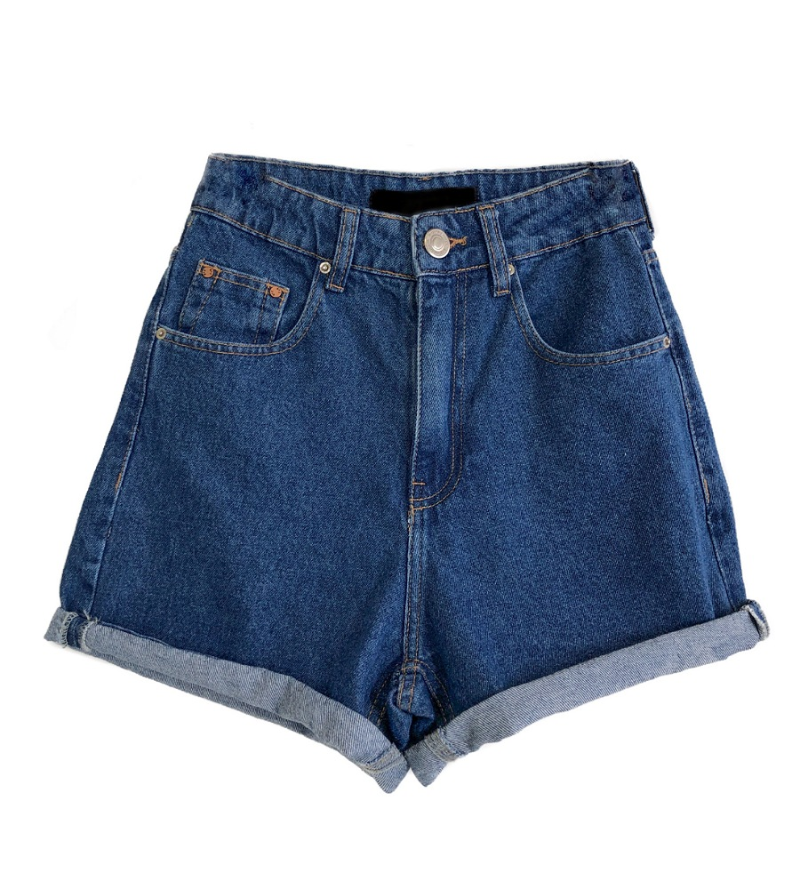Shorts Feminino MOM Escuro