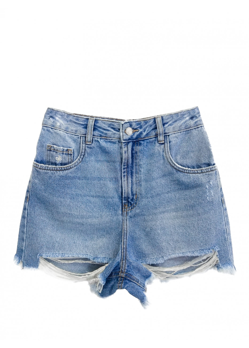 Shorts Jeans MOM DESTROYED