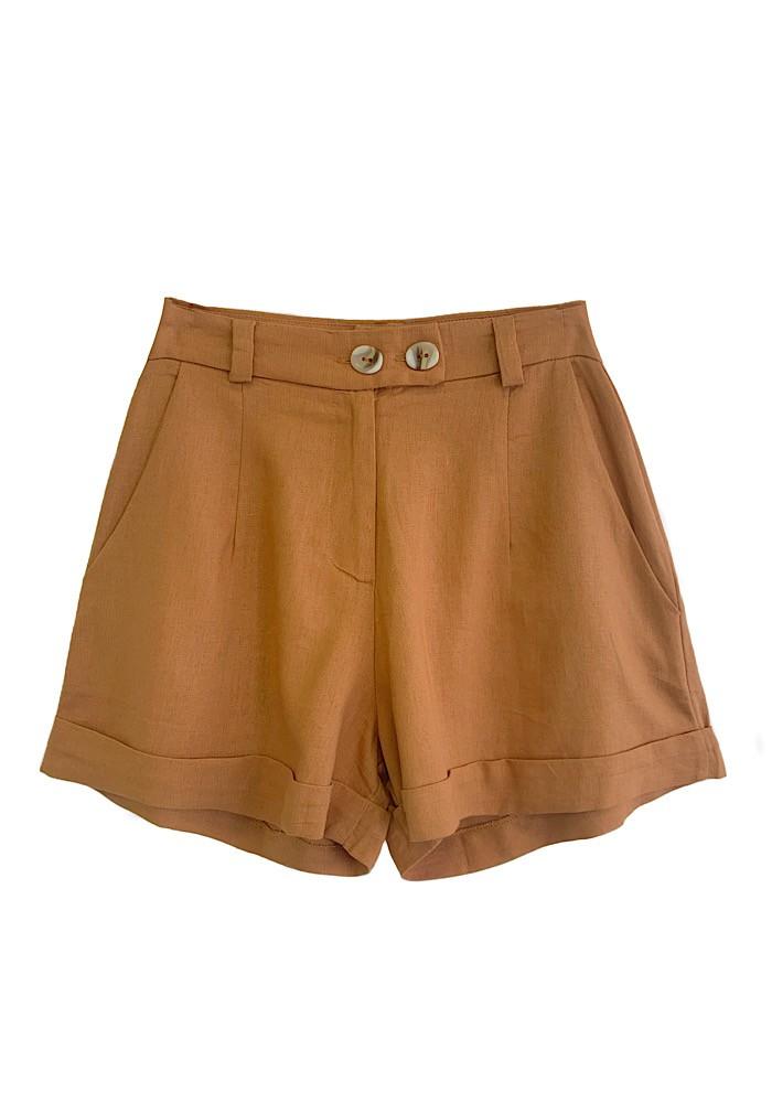 Shorts VERONA Caramelo
