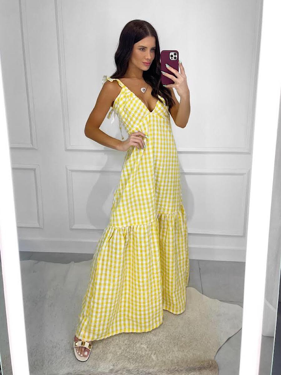 Vestido CARMELA Amarelo