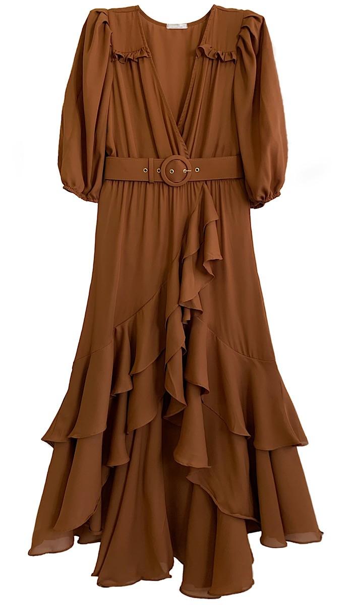 Vestido CATARINE Camel