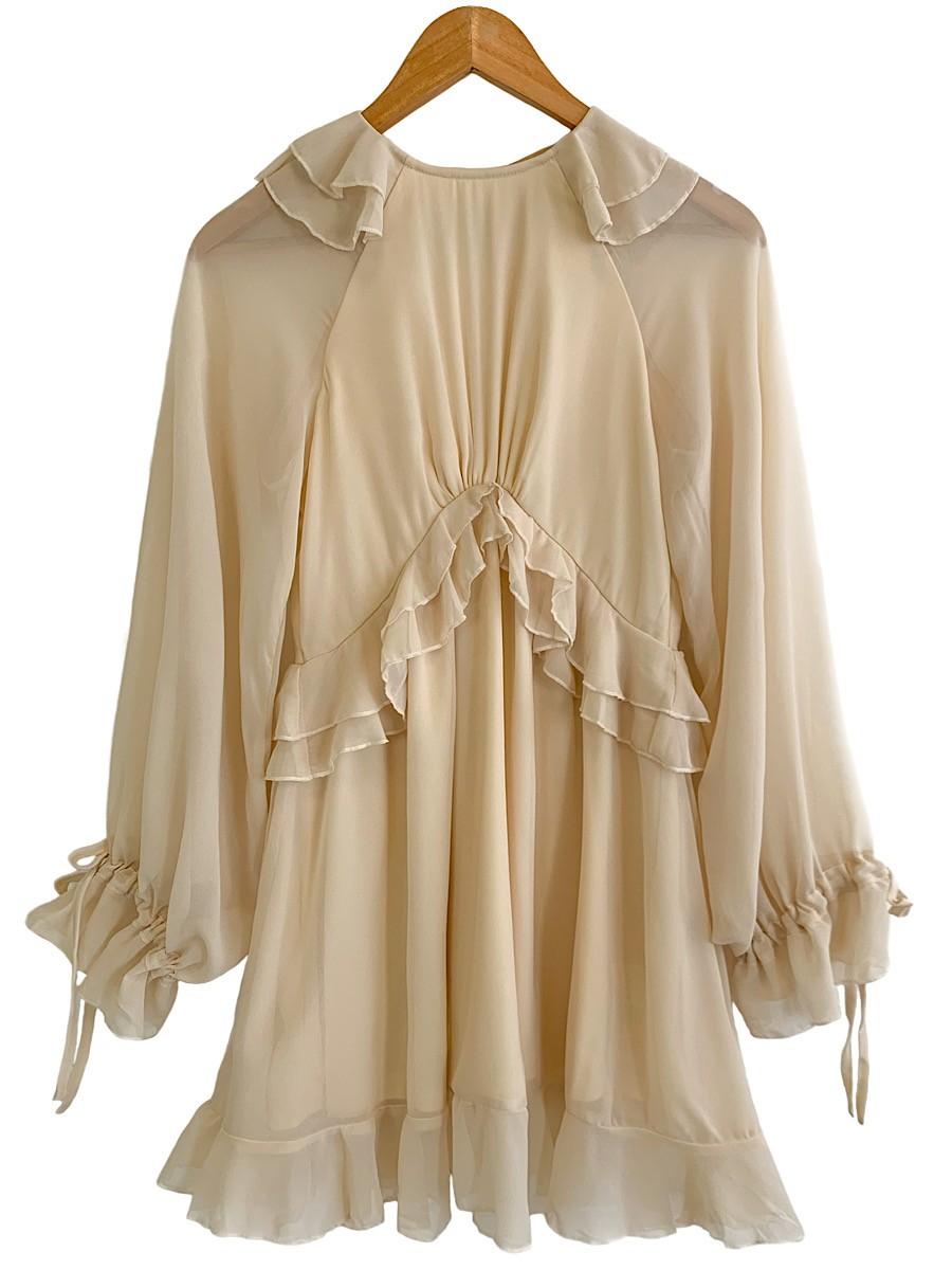 Vestido LÍVIA Areia