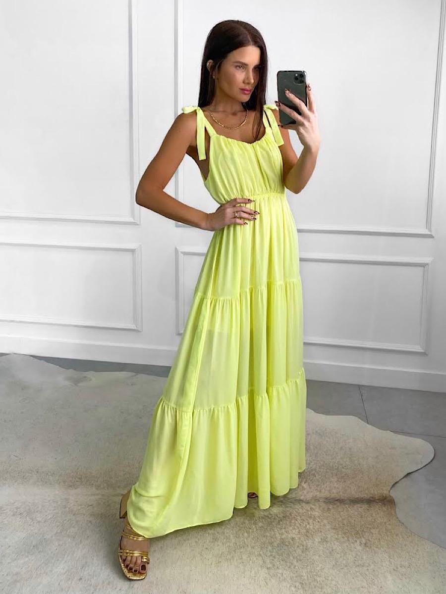 Vestido MIKA Amarelo