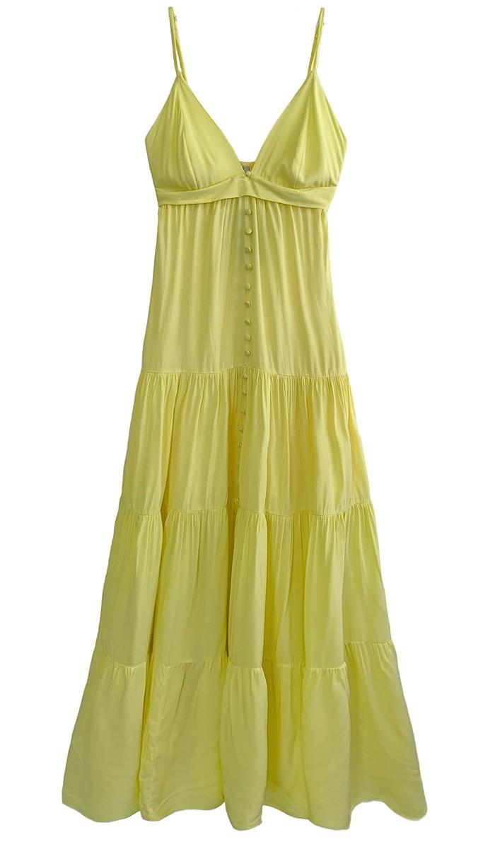 Vestido RAFAELLA Amarelo