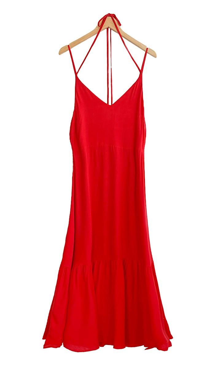 Vestido REBECA Vermelho