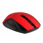 Mouse Sem Fio Maxprint Black Ruby, Preto/Vermelho - 6014591