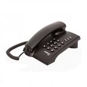 Telefone com Fio Pleno sem Chave Preto Intelbras