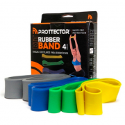 KIT RUBBER BAND - 4 TENSOES PROTECTOR