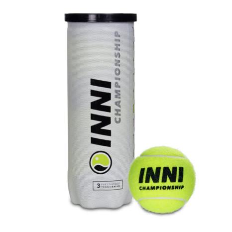 Bola de Tênis Inni Championship Tubo com 03 Bolas