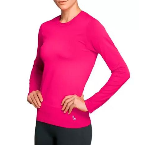 Camiseta Térmica Feminina Lupo Proteção UV Manga longa