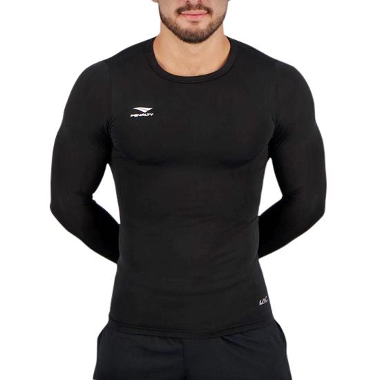 Camisa Térmica Masculina Penalty Matis X UV Manga Longa