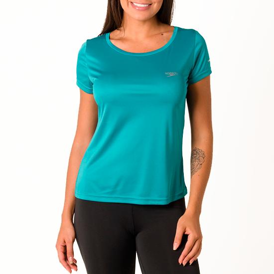 Camiseta Feminina Speedo Interlock Canoa