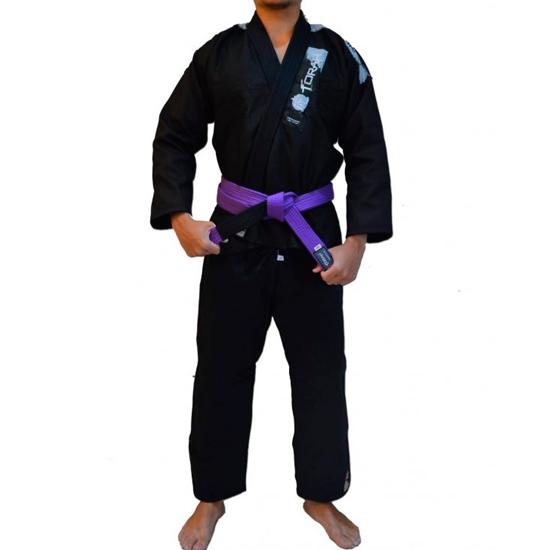 Kimono de Jiu-jitsu Adulto Trançado Plus Torah