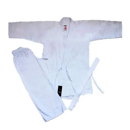 Kimono de Karatê Adulto Shogum Simples Branco