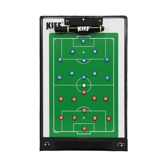 Prancheta Tática Kief Magnética Campo Futebol